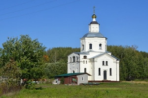 В Залегощенском районе открыт мужской монастырь во имя святого великомученика Ди