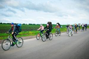 Подо Мценском прошли молодежный велопоход и православный туристический лагерь
