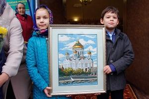 Праздник Покрова в орловском Знаменском храме. Фоторепортаж
