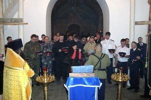 Во Мценске состоялся круг хуторского казачьего общества