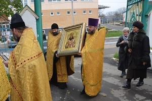 Икона святитителя Феодосия Черниговского продолжает путешествие по Орловско-Ливенской епархии