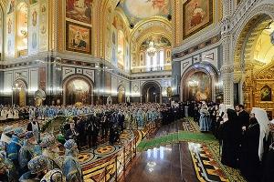 В день 100-летия интронизации святителя Тихона, Патриарха Московского, в столице прошли общецерковные торжества