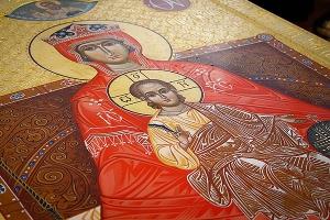 Образ Державной иконы Божией Матери из Храма Христа Спасителя передан болховском
