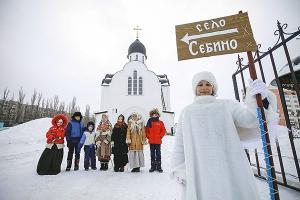 Гости престольного праздника храма блаженной Матроны Московской стали свидетелями постановки её жития
