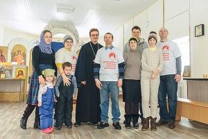 Молодежь Орла собралась на совместную Божественную литургию