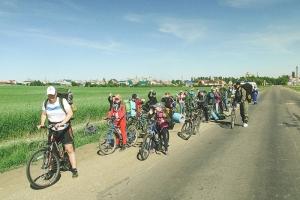 Мценская православная молодежь отправилась в велопоход