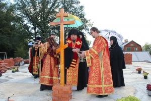В скиту Свято-Введенского монастрыря в Ивановке построят храм
