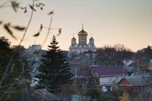 В канун Недели 21-й по Пятидесятнице Архипастырь совершил всенощное бдение в Смоленском храме