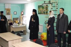 Первый в Орловской области церковный социальный приют для мам открылся в Ливнах