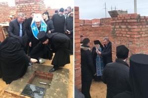 Митрополит Антоний благословил закладку храма иконы «Спорительница хлебов» в Орловском районе