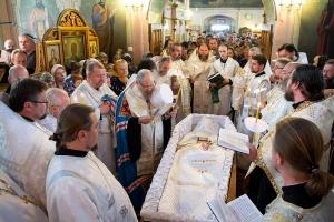 Чин отпевания и погребения протоиерея Иоанна Квятовича. Фоторепортаж