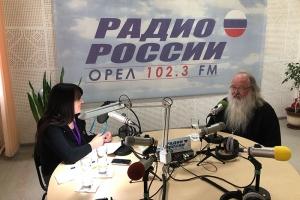 Владыка Тихон ответил на вопросы орловчан в прямом эфире «Радио России. Орёл»