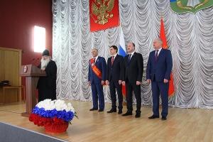 Управляющий Орловской митрополией поздравил министра Колокольцева с присвоением звания Почетного гражданина Орловской области