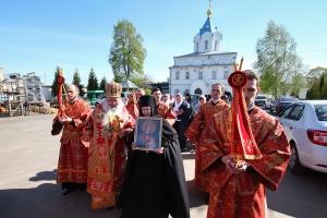 Игумения Олимпиада (Рожновская) удостоена ордена преподобной Ефросинии Московской