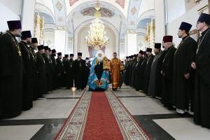 Митрополит Тихон провел первое епархиальное собрание на Орловской кафедре
