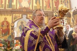В Неделю вторую Великого Поста архиепископ Пантелеимон совершил Божественную литургию в Свято-Успенском мужском монастыре