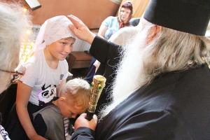 В Неделю 6-ю по Пасхе митрополит Тихон служил в Воскресенском храме Орла