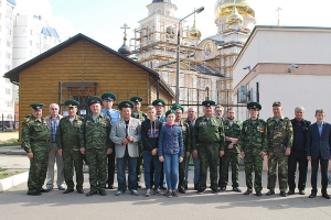 Орловские пограничники молились о погибших в 1993 году героях 12-й заставы Московского погранотряда
