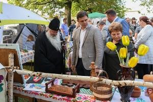 Владыка Тихон совершил богослужение в Казанском храме в Нарышкино и поздравил жителей с Днём района