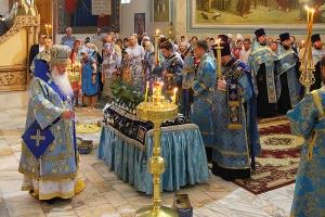 Митрополит Тихон: «Успение — это праздник, потому что сегодня мы вспоминаем жизнь Пресвятой Богородицы»