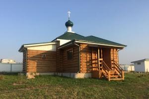 Митрополит Тихон совершил богослужение в скиту в д. Азаровка