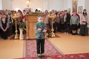 В праздник Рождества Пресвятой Богородицы Архипастырь совершил литургию в Спасо-Преображенском соборе Болхова