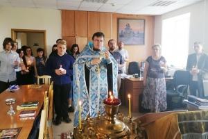 Учебный год на кафедре религиоведения ОГУ начался молебном