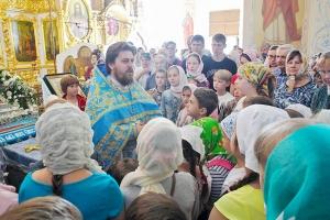 Священники Орловской епархии напутствовали ребят в День знаний