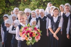 Архиерейское богослужение состоялось в храме гимназии во имя святого Кукши