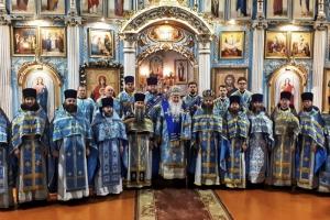 Архипастырь возглавил совместное богослужение духовенства Мценского благочиния