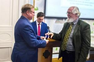 Руководитель епархиального отдела Виктор Ливцов удостоен награды ИППО