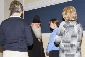 Владыка Тихон ответил на вопросы курсантов Академии ФСО России