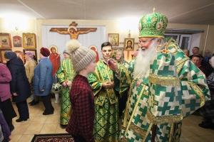 Архипастырь посетил приход святого Александра Невского во Мценске