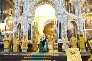 Патриаршим богослужением в Храме Христа Спасителя открылись Международных Рождественские чтения «Великая Победа: наследие и наследники»
