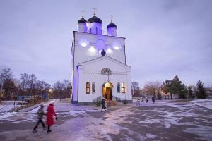 В канун праздника Рождества Христова Архипастырь возглавил богослужение в Свято-Успенском монастыре