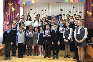 Болховский школьники подготовили для православной гимназии программу в память о войне