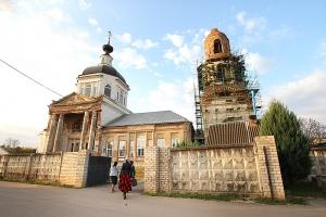 В праздник Воздвижения Архипастырь совершил Литургию во Мценске