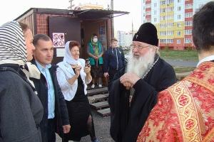 Архипастырь поздравил приход храма в микрорайоне «Зареченский» с престольным праздником