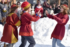 В «Знаменской богатырской заставе» прошел сретенский молодежный праздник