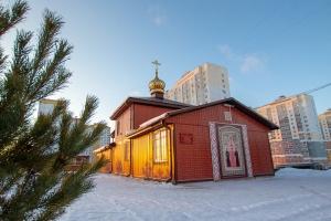 В канун дня памяти святой Ксении Петербургской митрополит Тихон служил в микрорайоне «Зареченский»