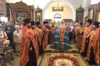 В Орле молитвенно почтили 115-летие посещение города святым страстотерпцем Николаем II. 19 мая 2019 г.