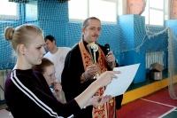 Приход храма иконы Божией Матери «Знамение» собрал семьи Северного района на «Знаменские эстафеты». 18 мая 2019 г.