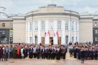 Митрополит Орловский и Болховский Тихон и духовентсво Орловской епархии участвовали в торжествах в честь 74-летия Победы в Великой Отечественной войне. 8-9 мая 2019 г.