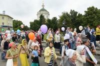 Семейный крестный ход в День семьи, любви и верности в Орле. 9 июля 2019 г.