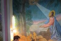 В канун Недели 16-й по Пятидесятнице митрополит Орловский и Болховский Тихон совершил всенощное бдение в Никитском храме села Солнцево Урицкого района. 5 октября 2019 г.