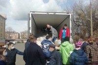 Волонтеры Орловской епархии присоединились к Всероссийской акции взаимопомощи #МыВместе. 11 апреля 2020 г.