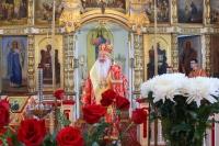 В пятницу Светлой седмицы митрополит Орловский и Болховский Тихон совершил Литургию в храме святых апостолов Петра и Павла г. Мценска. 24 апреля 2020 г.