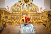 В Неделю 4-ю по Пасхе митрополит Орловский и Болховский Тихон совершил литургию в Покровском храме села Становой Колодезь Орловского района. 10 мая 2020 г.