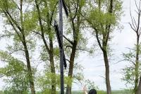Митрополит Орловский и Болховский Тихон освятил поклонные кресты на въездах в Урицкий район. 20 мая 2020 г.