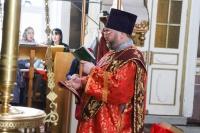 В канун дня памяти апостола  Иоанна Богослова митрополит Орловский и Болховский Тихон совершил всенощное бдение в Ахтырском кафедральном соборе Орла. 20 мая 2020 г.